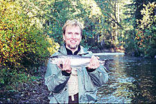 Trout fishing on Campbell River streams and rivers